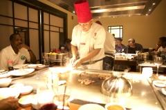 Bennihana Chef Photo
