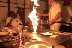 Bennihana flame Shot