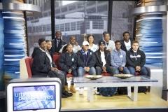 Group Photo on Set