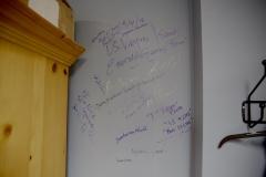 Wall Autographs at BMA