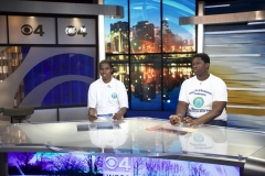 Zion and Akil Mock Broadcast