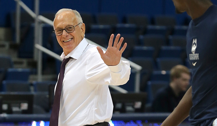 Hall of Fame Coach Larry Brown