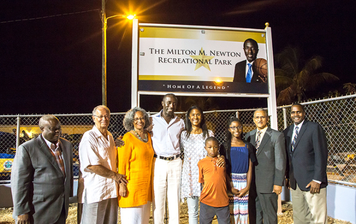 Milton M. Newton Recreational Park Dedication