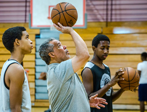 Photos: Emerald Gems Inaugural Basketball Camp, Coaches