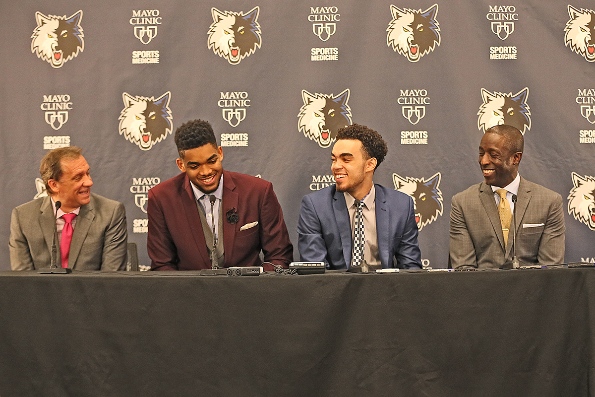 Milt Newton's odyssey from troubled kid to Timberwolves GM