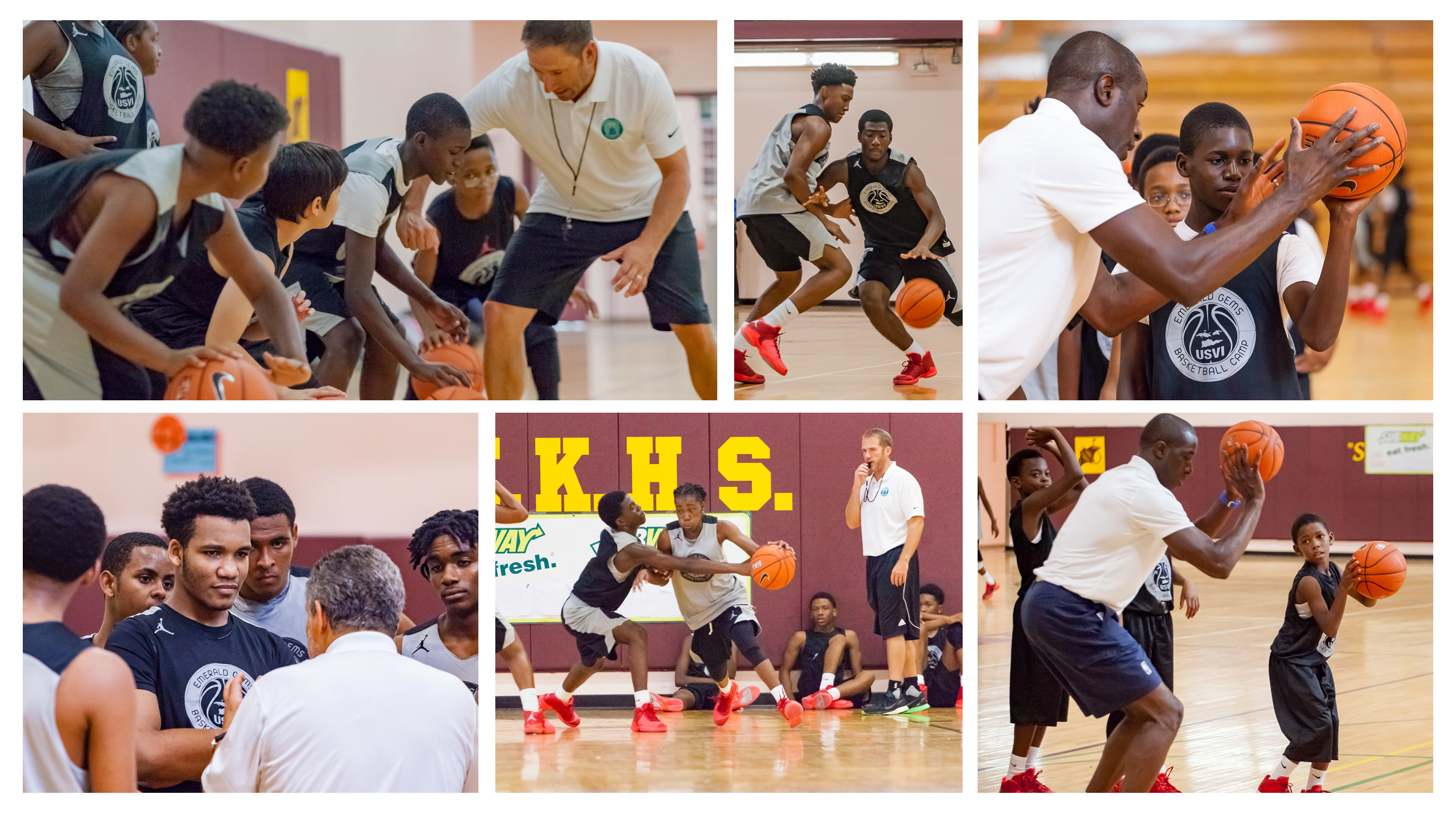 2017 Emerald Gems Basketball Camps and Clinics