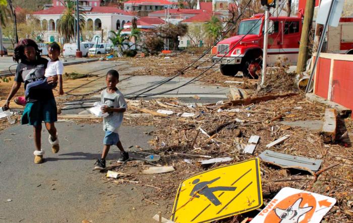 USVI Hurricane Irma Relief Efforts