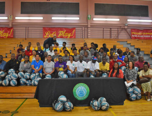Emerald Gems Foundation Donates Basketballs to Public Schools