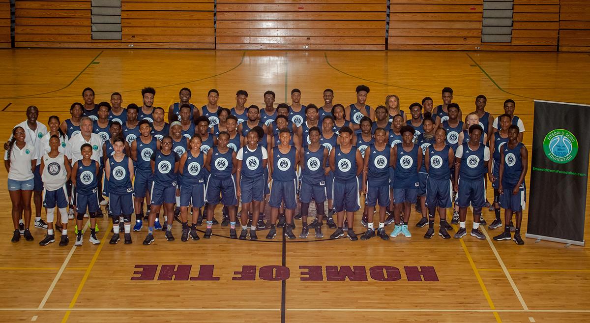 Emerald Gems Foundation Basketball Camp Photo