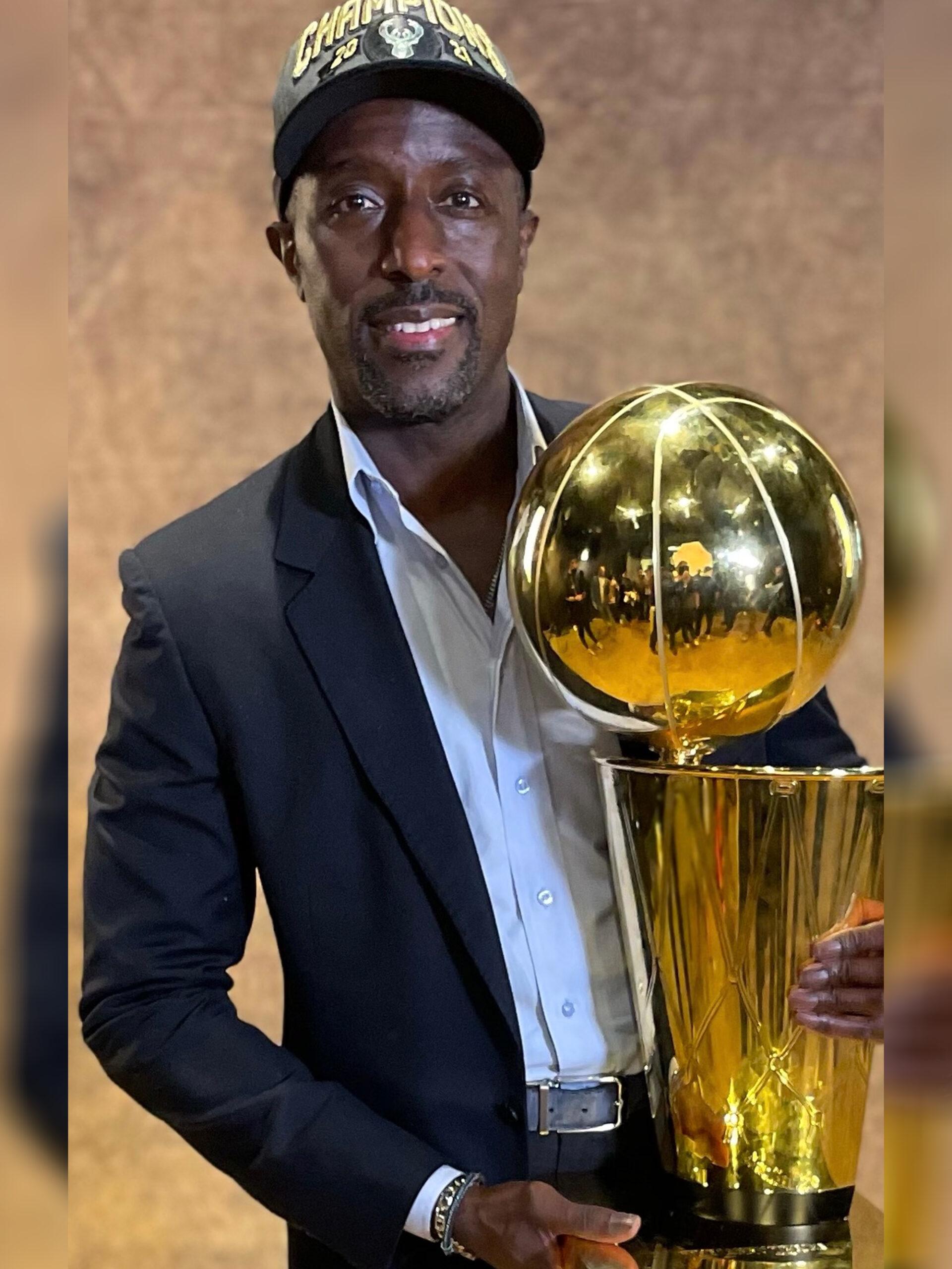 Milt Newton NBA Champion Trophy