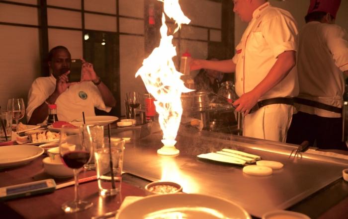Bennihana-flame-Shot