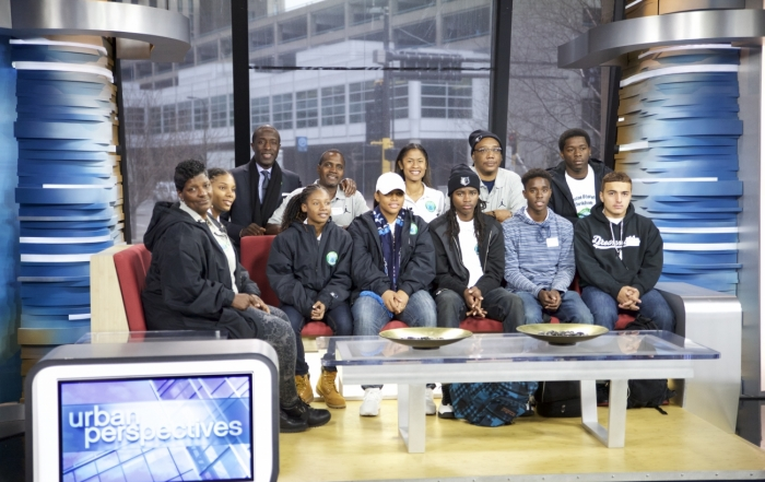 Emerald Gems Group Photo at WCCO Studios